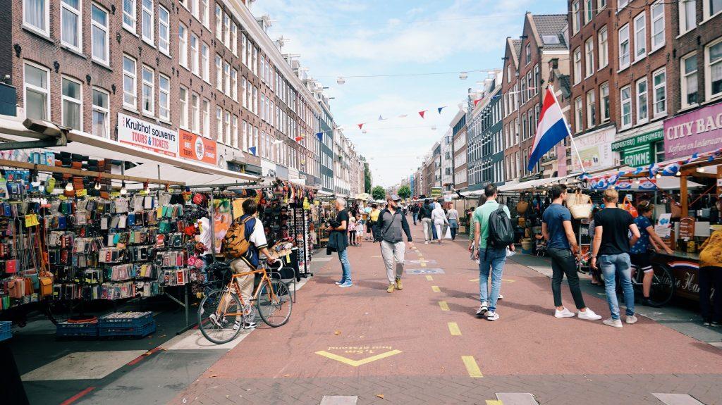 Street Fair in Amsterdam